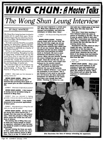wong shun leung interview