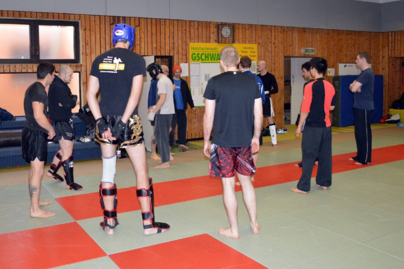 Sparring Delta Cup Mannheim 2015